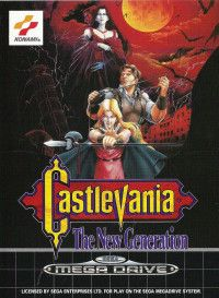 Castlevania: Bloodlines (Castlevania: The New Generation, Vampire Killer) (16 bit) для Сега
