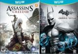 Купить игру Assassin's Creed 3 (III) Русская Версия + Batman Arkham City Armored Edition Русская Версия (Wii U) на Nintendo Wii U диск