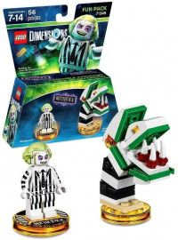 LEGO Dimensions Fun Pack Beetlejuice (Beetlejuice, Saturn's Sandworm) Фигурки Lego Dimensions
