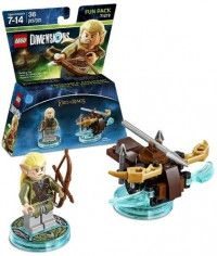LEGO Dimensions Fun Pack - Lord of the Ring (Legolas, Arrow Launcher) Фигурки Lego Dimensions