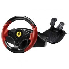 Руль THRUSTMASTER Ferrari Racing Wheel Red Legend Edition (PS3) для Sony PlayStation 3