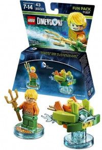LEGO Dimensions Fun Pack - DC Comics (Aquaman, Aqua Watercraft) Фигурки Lego Dimensions