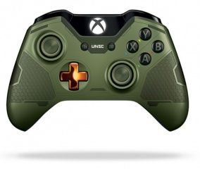 Геймпад беспроводной Microsoft Xbox One S/X Wireless Controller Halo 5: Guardians (The Master Chief) (Xbox One)