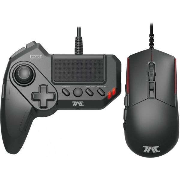 Игровая мышь и Кейпад Hori Tactical Assault Commander 4 (T.A.C.4) Grip PS4/PS3/PC