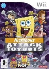 Купить игру Nickelodeon: Spongebob and Friends: Attack of the Toybots (Wii/WiiU) на Nintendo Wii диск