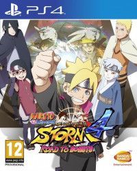 Игра Naruto Shippuden: Ultimate Ninja Storm 4 Road to Boruto (PS4) Playstation 4