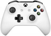 Геймпад беспроводной Microsoft Xbox One S/X Wireless Controller Rev 3 White (Белый) (TF5-00004) Оригинал (Xbox One)