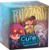 Купить Фигурка Blizzard: Милый, но смертельно опасный (Cute but Deadly Blind Vinyls) (Warcraft, Starcraft, Diablo, Overwatch) Серия 4 (Series 4) 6,5 см Фигурки из игр
