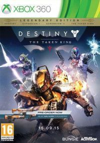 Destiny: The Taken King. Legendary Edition (Xbox 360) USED Б/У