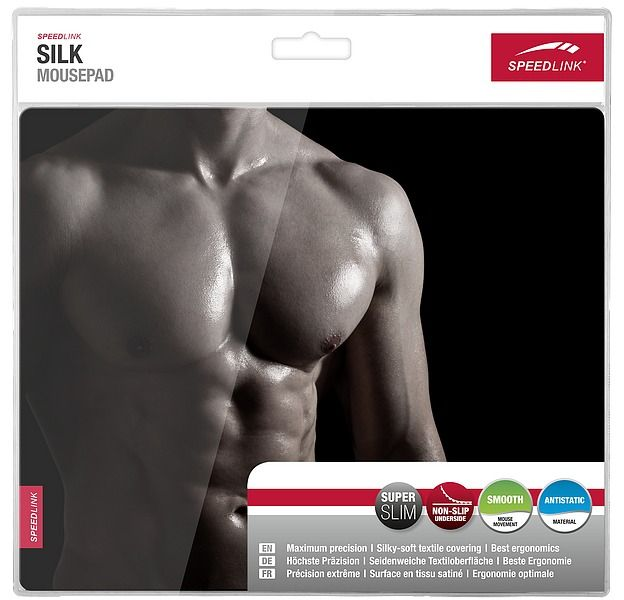 Коврик для мыши Speedlink Silk Mousepad Мускулы (Muscle) (SL-620000-MUSCLE) (PC)