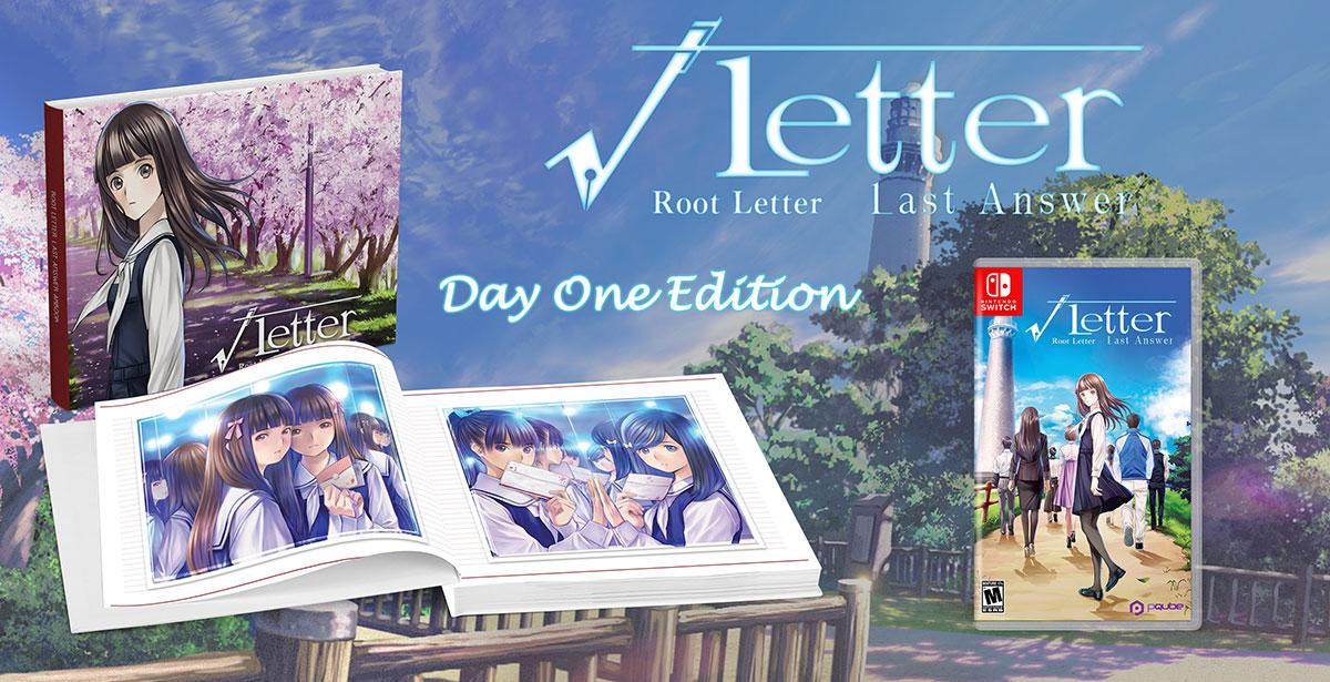 Root Letter: Last Answer Day One Edition (Издание первого дня) (Switch)