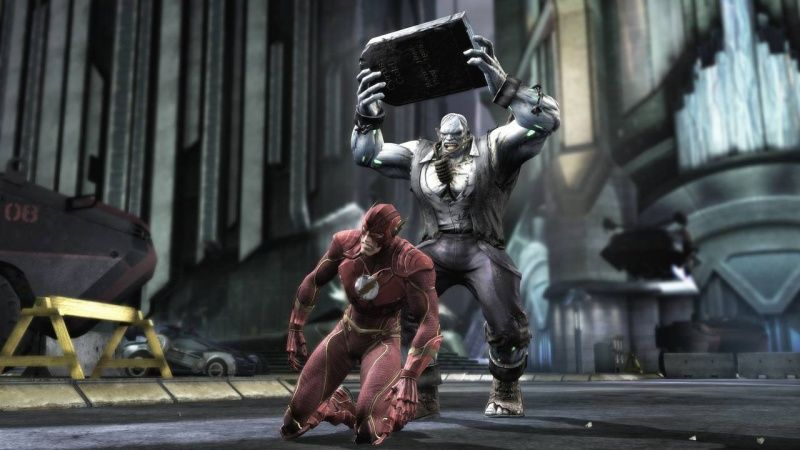 Injustice: Gods Among Us Ultimate Edition Русская Версия (PS4)