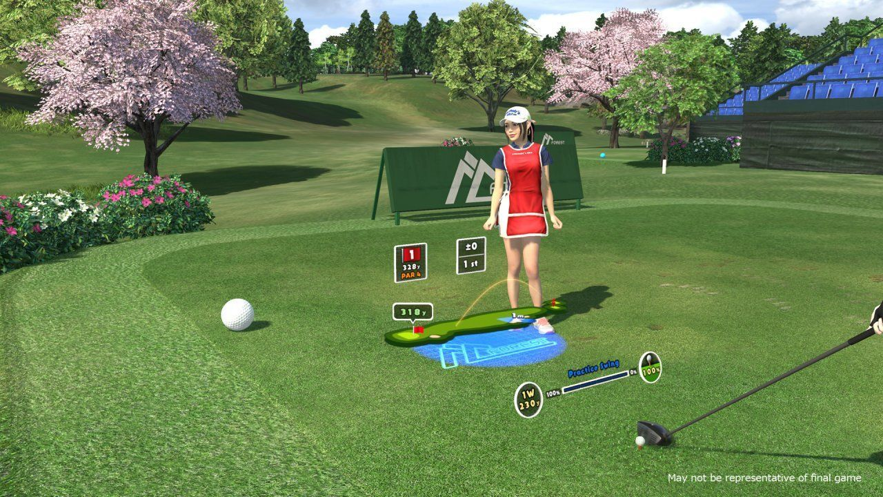 Everybody's Golf (только для PS VR) (PS4)