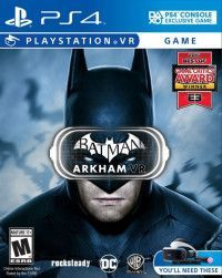 Игра Batman: Arkham VR (Только для PS VR) (PS4) Playstation 4