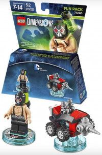 LEGO Dimensions Fun Pack DC Comics (Bane, Drill Driver) Фигурки Lego Dimensions