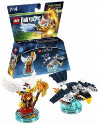 LEGO Dimensions Fun Pack - Lego Legend of Chima (Eris, Eagle Interceptor) Фигурки Lego Dimensions