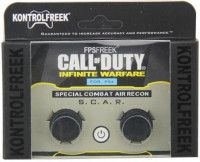 Накладки на стики для геймпада KontrolFreek Grips Call of Duty Infinite Warfare (2 шт) Черные (PS4)