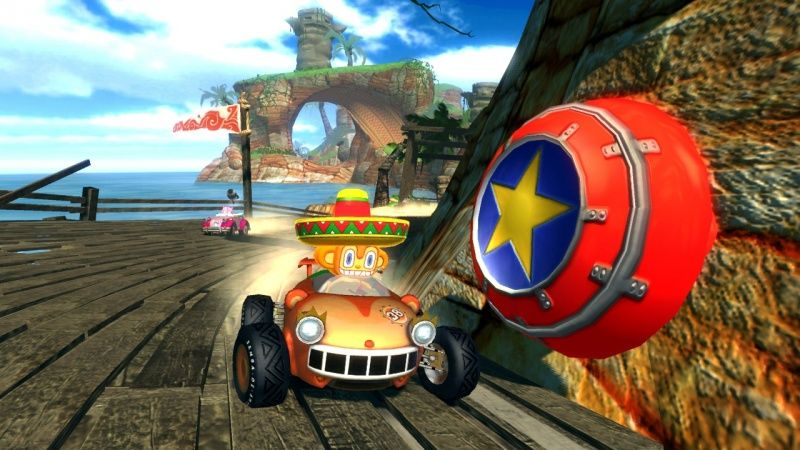 Sonic and SEGA: All-Stars Racing (PS3)