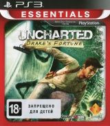 Uncharted: Drake's Fortune Platinum (Essentials) (PS3) USED Б/У