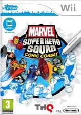Marvel Super Hero Squad: Comic Combat с поддержкой uDraw (Wii)