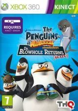 The Penguins of Madagascar: Dr Blowhole Returns Again! (Пингвины Мадагаскара) для Kinect (Xbox 360) USED Б/У