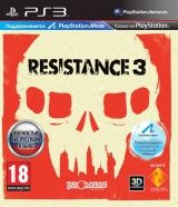 Купить игру Resistance 3 Русская Версия c поддержкой 3D для PlayStation Move (PS3) USED Б/У на Playstation 3 диск