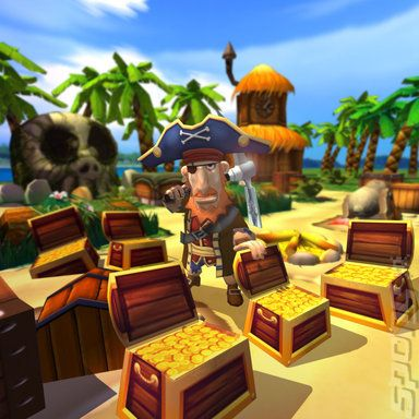 Купить игру Pirates: Hunt for BlackBeard's Booty (Wii/WiiU) на Nintendo Wii диск