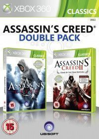 Assassin's Creed 1 (I) and 2 (II) Double Pack (Xbox 360) USED Б/У