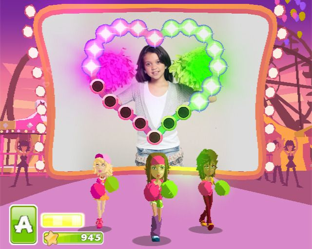 EyeToy: Play Pom Pom Party + Камера + 2 Помпона (PS2)