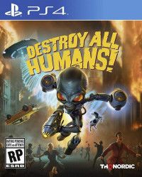 Destroy All Humans! DNA Collector's Edition Русская Версия (PS4)
