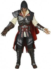 Фигурка NECA: Мастер Эцио (Ezio Master) Кредо убийцы 2 (Assassin's Creed 2) 17 см (Уценка)