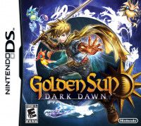 Игра Golden Sun: Dark Dawn (DS) USED Б/У для Nintendo DS
