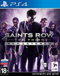 Saints Row: The Third - Remastered Русская Версия (PS4)