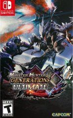 Купить игру Monster Hunter Generations Ultimate (Switch) диск