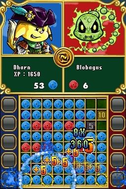Игра Neopets Puzzle Adventure (DS) для Nintendo DS
