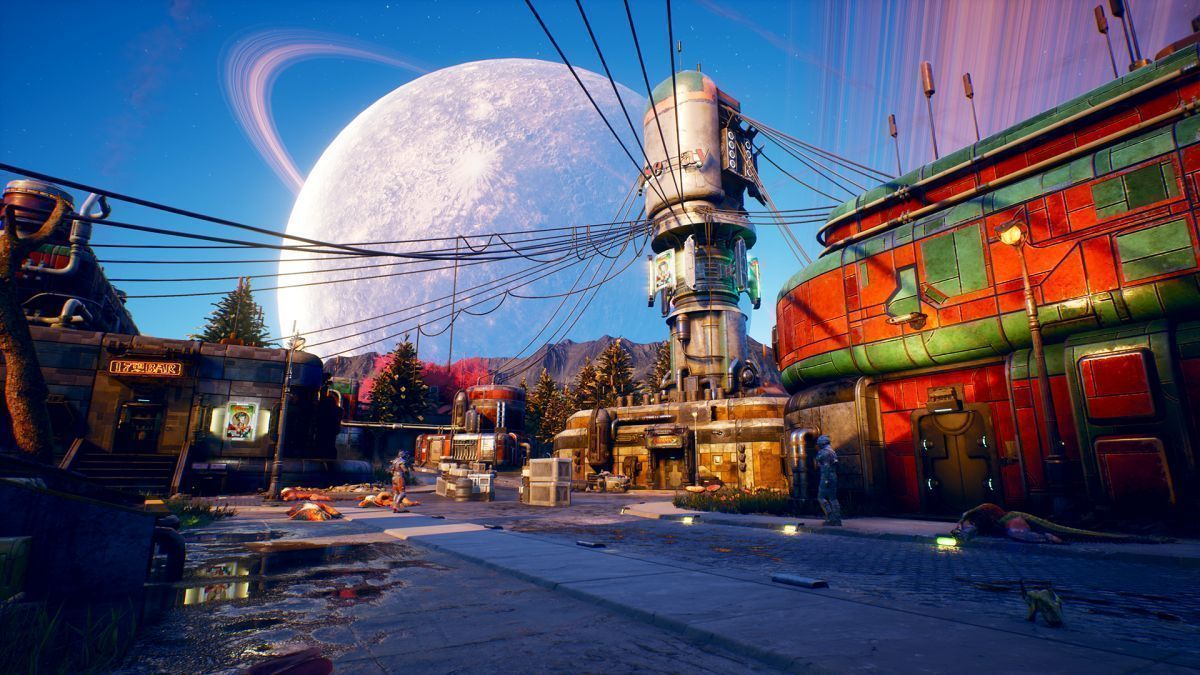 The Outer Worlds Русская версия (Switch)