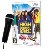 Купить игру High School Musical: Sing It + Микрофон (Wii/WiiU) на Nintendo Wii диск