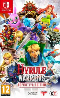 Купить игру Hyrule Warriors: Definitive Edition (Switch) диск