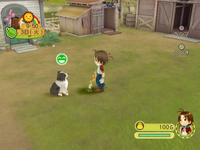 Купить игру Harvest Moon: Animal Parade (Wii/WiiU) на Nintendo Wii диск