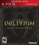Купить игру The Elder Scrolls 4 (IV) Oblivion: Game of the Year Edition (PS3) на Playstation 3 диск