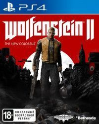 Игра Wolfenstein 2 (II): The New Colossus Русская Версия (PS4) Playstation 4