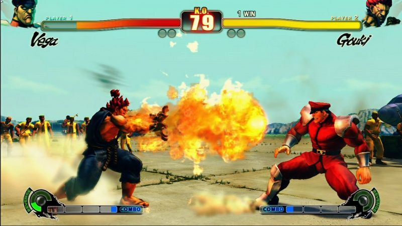 Street Fighter 4 (IV) (PS3) USED Б/У