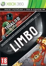 Сборник игр LIVE 3 in 1Limbo, Trials HD, Splosion Man Рус. Док для Xbox 360