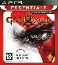 Купить игру God of War (Бог Войны) 3 (III)(Platinum, Essentials) Русская Версия (PS3) USED Б/У на Playstation 3 диск