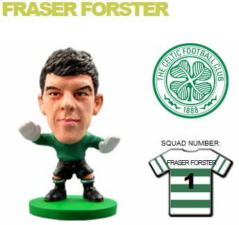 Фигурка футболиста Soccerstarz - Celtic Fraser Forster - Home Kit (76524) Фигурки Soccerstarz