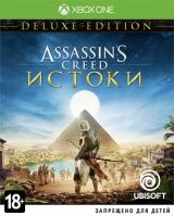 Купить Игру Assassin's Creed: Истоки (Origins) Deluxe Edition Русская Версия (Xbox One) на Xbox One диск