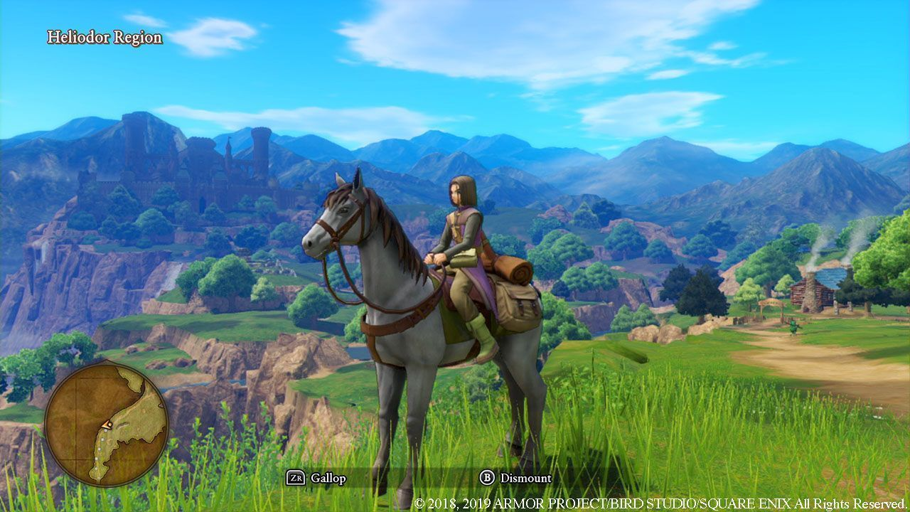 Dragon Quest XI (11) S: Echoes of an Elusive Age - Definitive Edition (Switch)