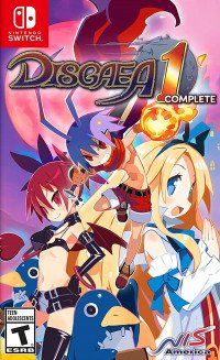 Купить игру Disgaea 1 Complete (Switch) диск