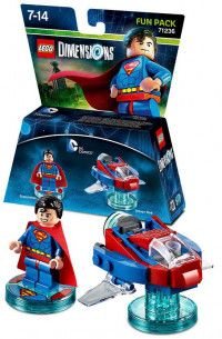 LEGO Dimensions Fun Pack DC Comics (Superman, Hover Pod) Фигурки Lego Dimensions