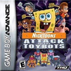 Nicktoons: Attack of the Toybots Русская Версия (GBA)